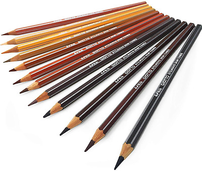 Giotto Stilnovo Skin Tone Colouring Pencils – Pack of 12 Assorted Colours