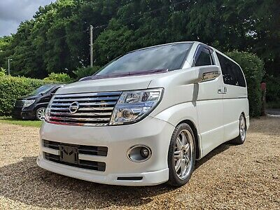 2006 NISSAN ELGRAND 3.5 8 SEATER HIGHWAY STAR 52k MILES FRESH IMPORT