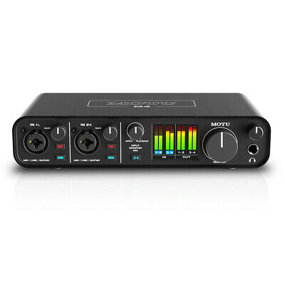 Motu M4 4x4 USB Audio Interface with Studio Quality Sound