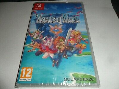 Trials Of Mana  Switch Game  Brand New Sealed