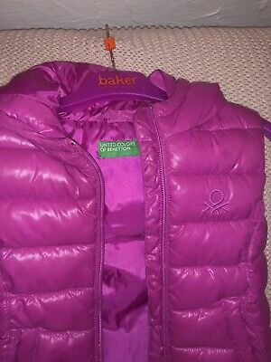 Girls United Colours Of Benetton Body Warmer  3-4