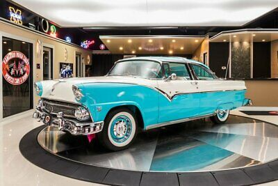 1955 Ford Crown Victoria  Rotisserie Restored Crown Victoria! Ford 272ci V8, 3-Speed Auto, Continental Kit