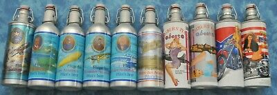 Collectable AVIATOR & HARLEY beer cans, Refillable, 10 cans, from 1990s Germany