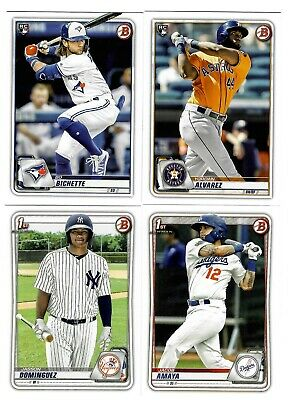 2020 Bowman Base Paper #1-100 & Prospects #BP1-150 - Complete Your Set You Pick!