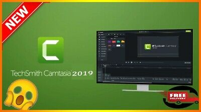 Camtasia Studio 2019.0.9 |Lifetime Activation| & |Fast delivery|