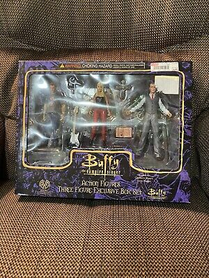 Rare Buffy The Vampire Slayer Action Figures Buffy Oz Giles Moore Collectibles