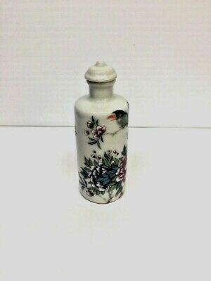 Antique Chinese Enamel Snuff Bottle Kangxi-Mark