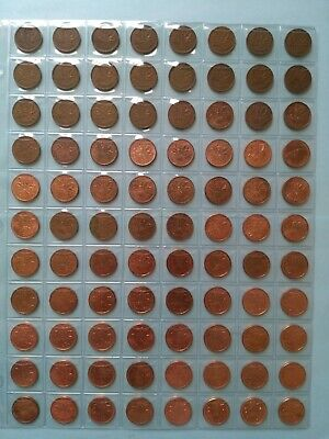 Collection of 88 Penny, Date Complete From 1937-2012, No Reserve! (Lot #20)