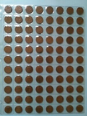 Lot of 88 Canadian 1958 Small Penny, Circulated, No Reserve! (Lot #17)