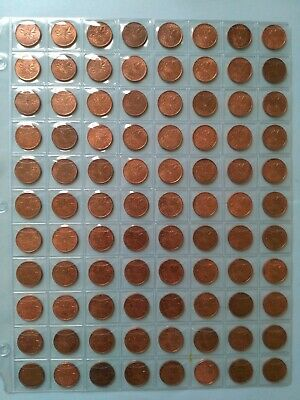 Lot of 88 Canadian 1981 Small Penny, Grade AU or Better, No Reserve! (Lot #15)