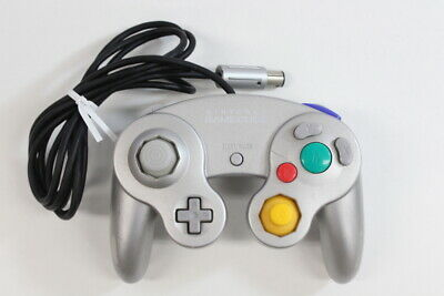 Official Nintendo GameCube Controller Pad Silver T3 Tight Switch Wii U GC GO479