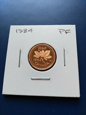 1984 UNC Proof Canadian Small Penny (1c), No Reserve!