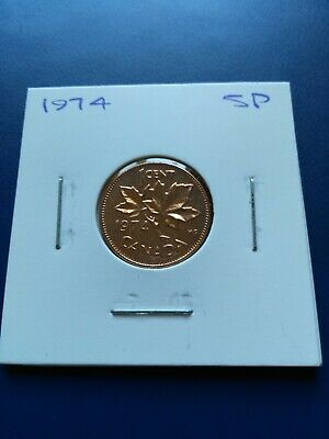 1974 UNC GEM Canadian Small Penny (1c), No Reserve!