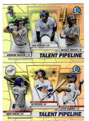 2020 Bowman Chrome TALENT PIPELINE Insert - Complete Your Set - You Pick!