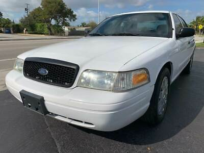 2010 Ford Crown Victoria Police Interceptor 4dr Sedan (3.55 Axle) 2010 Ford Crown Victoria Police Interceptor City Maintained Florida Owned L@@K