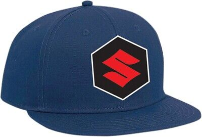 Factory Effex Suzuki Youth Snapback Hat Mens Blue 19-86412