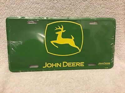 Green John Deere License Plate Free Shipping