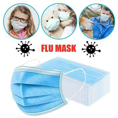 100Pcs/Pack Air Purifying Face Mask Respirator Mouth-muffle Mask