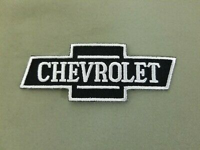 Chevrolet Car Embroidered Automotive Iron On Patch.