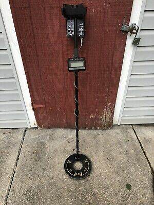 Whites DFX Metal Detector Must See Great Condition
