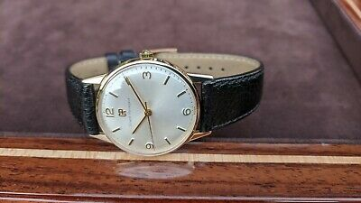 Girard Perregaux Solid Gold Watch 9ct Gold