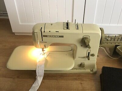 Bernina Record 730 Sewing Machine - Very Good Working Order - Vintage