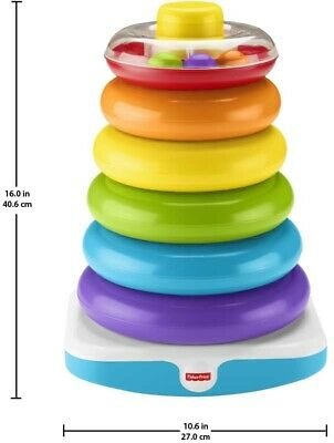 Fisher Price Giant Rock-a-stack stacking ring set