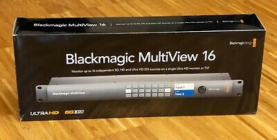 Blackmagic Design Multiview 16, gebraucht