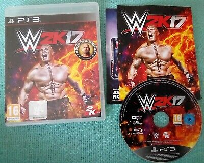 WWE 2k17 PS3 PlayStation 3 Game