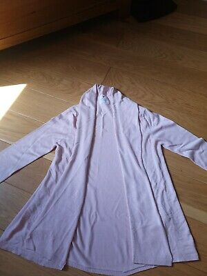 Girls ZARA Pink Cardigan Age 13-14 Perfect For Summer