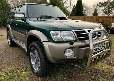 53 NISSAN PATROL GR 3.0Di SVE 7 LEATHER SEATS MANUAL LOW 119K TOW BAR PX SWAPS