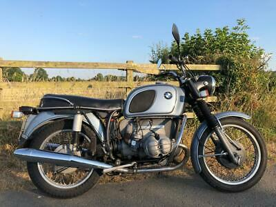 BMW R75/5 motorcycle