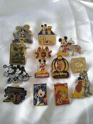 Disney Trading Pin Lot Walt Disney Lady and the Tramp Chip and Dale