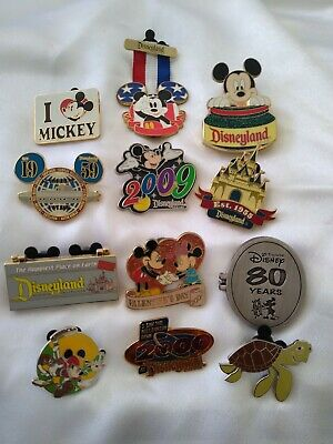 Disney Trading Pin Lot Mickey Mouse and More