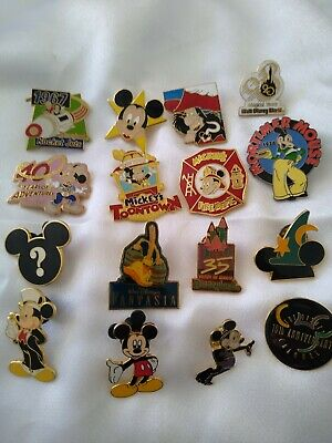Disney Trading Pins Lot of 16 Mickey Mouse and More