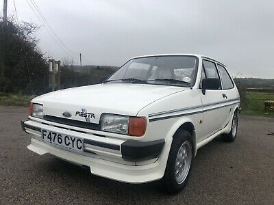 Ford Fiesta Mk2 1.1 Popular Plus. Very Rare Car With a Factory Body Kit
