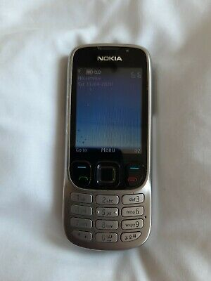 Nokia Classic 6303 - Steel Silver (O2) mobile phone