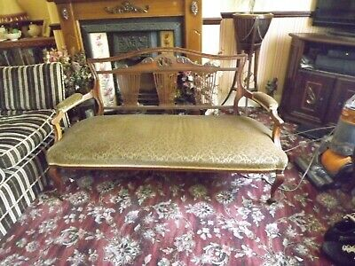 Edwardian Settee, for re-upholstering