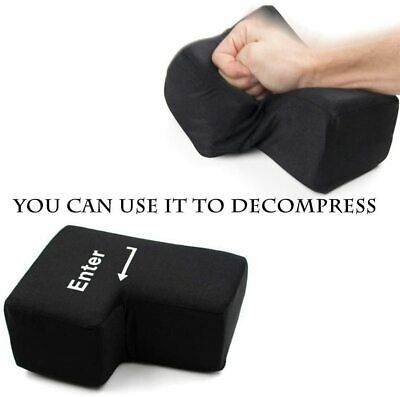 USB Keyboard Stress Relief Gadget 'Big Enter' Punch Pillow For The Computer