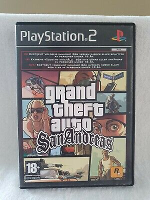 Ps2 grand theft auto san andreas Case Only RARE SLEEVE free Post ☆BARGAIN☆