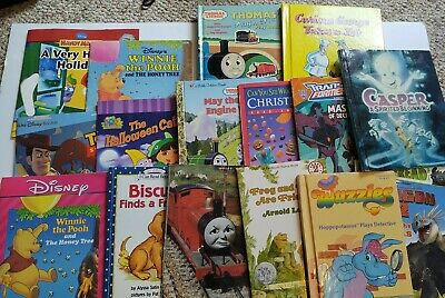 Used LOT OF 16 - Childrens Bedtime Books - Story time Bundle for young children