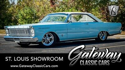 1965 Ford Galaxie XL Fastback Blue 1965 Ford Galaxie Coupe 390 CID V8 4 Speed Manual Available Now!