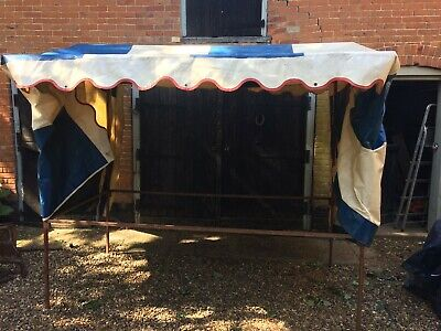 Metal frame market stall 8ft by 4ft