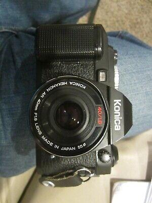 Konica FS-1 Camera with Hexanon 40mm FL8 lens
