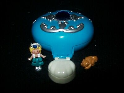 EUC 100% Complete Vintage Polly Pocket Jeweled Sea 1992