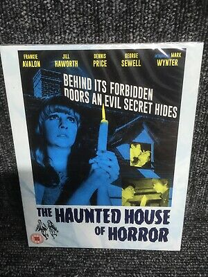 The Haunted House Of Horror (Limited Numbered Edition) New & Sealed Blu Ray.