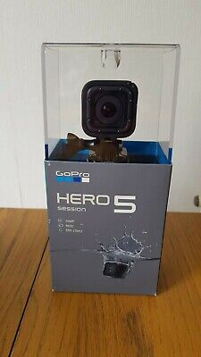 GoPro Hero 5 Session action camera, black, 4k, waterproof, boxed and complete