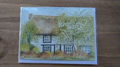 Greetings Cards - Pack Of 10 - Cottage design - with inserts