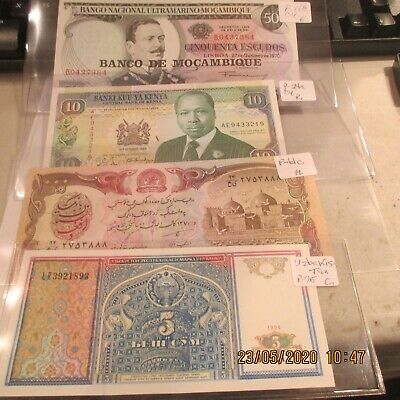 11 Different Worldwide Notes