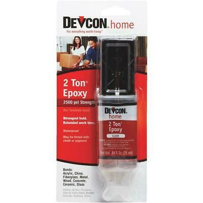 6 Pk Devcon 0.84 Oz. Clear Extremely Strong Water-Resistant 2-Ton Epoxy Syringe